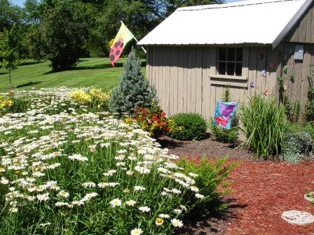 Residential Flower Gardens